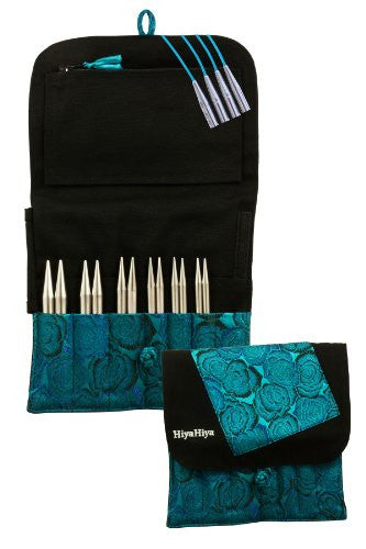 Sharp Steel Interchangeable Knitting Needle Set - 5-inch Large Tip Sizes (US 9 - US 15)