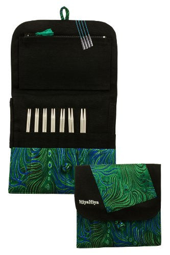 Steel Interchangeable Knitting Needle Set - 5-inch Large Tip Sizes (US 2 - US 8)