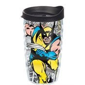 Marvel - Wolverine - Classic Wrap with Lid 10oz. Wavy Tumbler
