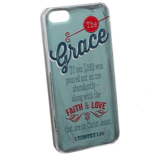"Retro Blessings ""Grace"" iPhone 5/5S Smartphone Cover"