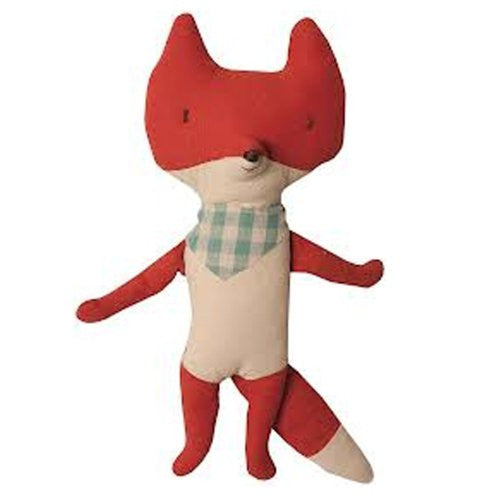 Fox with Scarf, 13-Inch