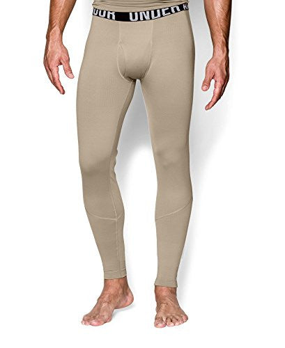 UA Coldgear Infrared Tactical Fitted Leggings - Desert Sand, Small