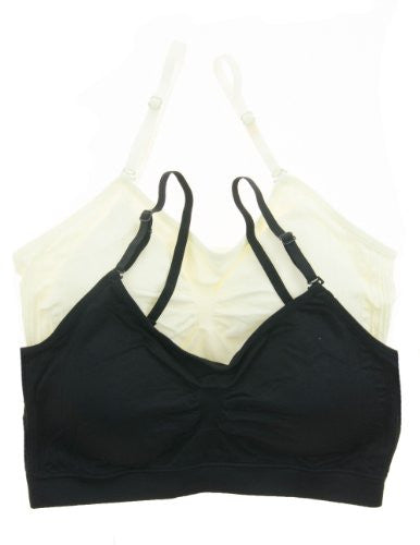 Tops-seamless top, removable and adjustable straps