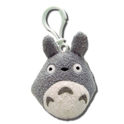 Totoro Backpack Clip - Grey