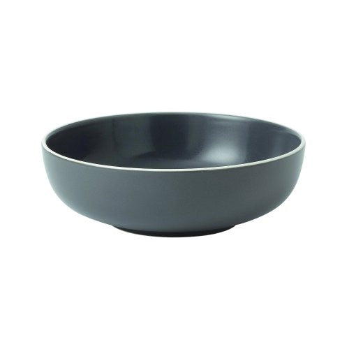 "BREAD STREET CEREAL BOWL 6.7"" SLATE"
