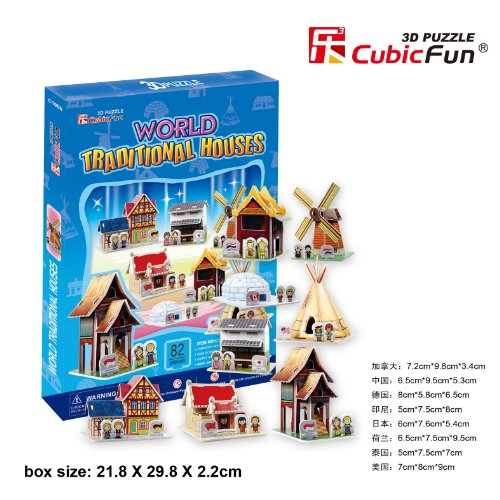 World Traditional House, 82 Pieces