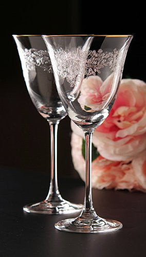 ROYAL ALBERT STEMWARE GOBLET SET/2