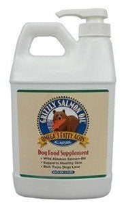 Grizzly Salmon Oil™ for Dogs - 64 oz. Pump Bottle