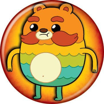 BRAVEST WARRIORS-Impossibear - BUTTONS 1 1/4 in. ROUND