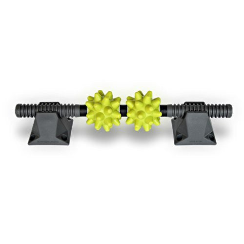 RumbleRoller Beastie Bar and Stands, Grey/Green/Grey , OS