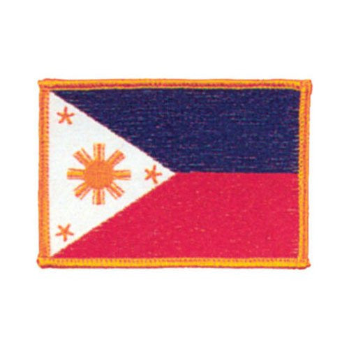 Phillipines Flag Patch, 3 1/2""