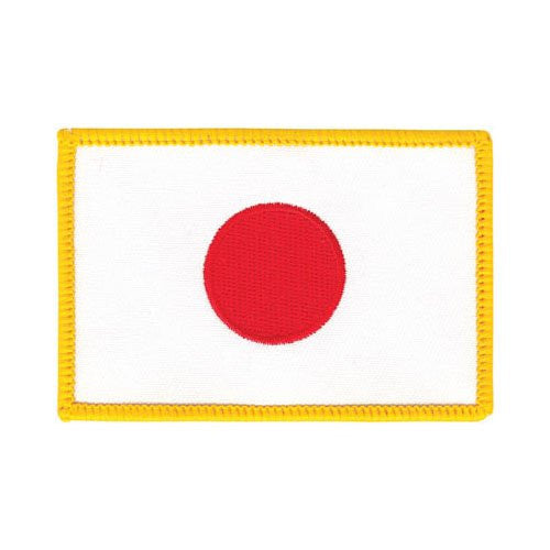Japanese Flag Patch, 3 1/2""