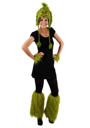 Dr. Seuss Grinch Fuzzy Leg Warmers