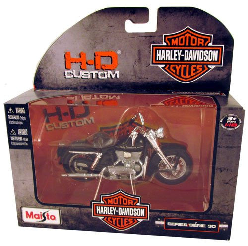Maisto 1952 K Model Harley-Davidson Die-Cast Motorcycle Series 30 1:18 Scale
