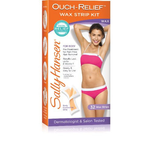 Ouch Relief Wax Strips for Body