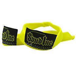 "1"" Straps Yellow - 1 Pair of Wrist Wraps"