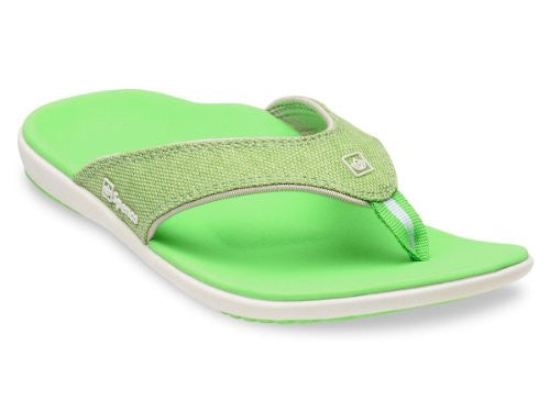 Spenco Yumi Canvas Women's, Lizard Size 9