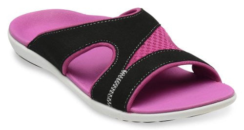 Spenco Tori Slide Women's, Fuchsia Size 7