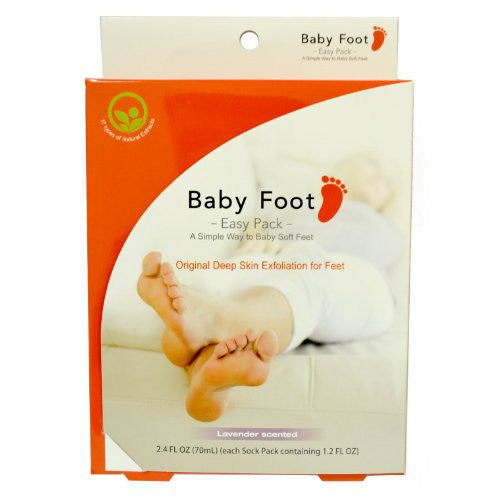 Baby Foot Scented Foot Care, Lavender, 6 Count
