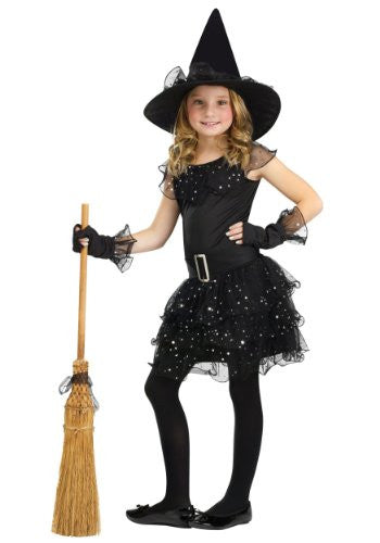 Glitter Witch Child Cstm Large 12/14