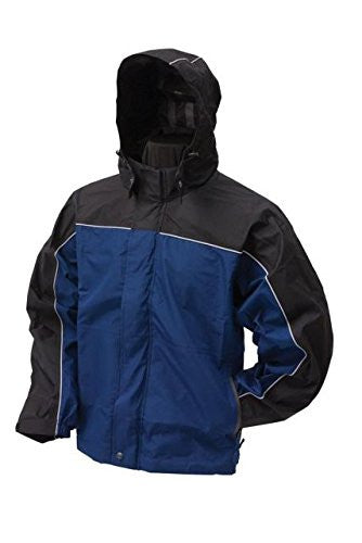 Frogg Toggs Highway Jacket (Dust Blue / Black / X-Large)
