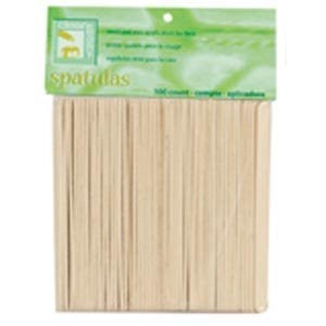 Applicator Spatulas, Small (Face) Wood Applicator