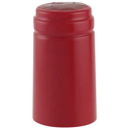 Thermoseal Hoods, Holiday Red/Ruby Red (30 Pack)