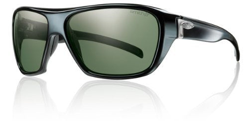 Smith Optics Chief Sunglasses - Black Frame with Polarized Gray Green Lens