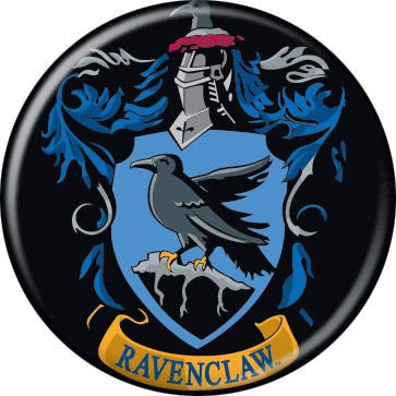 Ravenclaw Crest - BUTTONS 1 1/4 in. ROUND