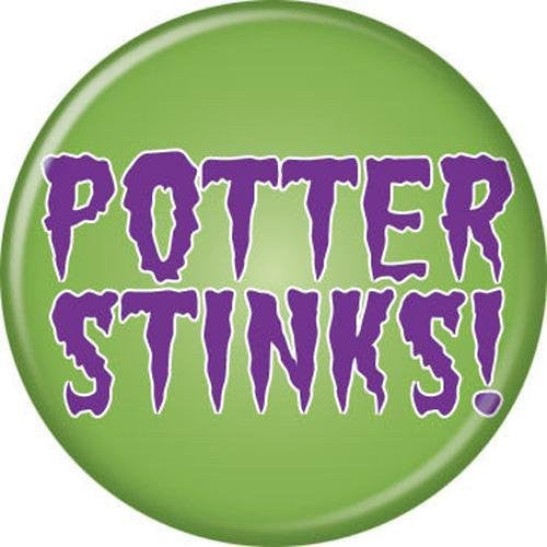 Potter Stinks - BUTTONS 1 1/4 in. ROUND