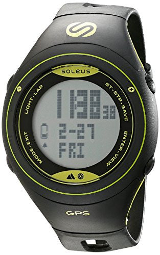 GPS Cross Country - Black/ Lime