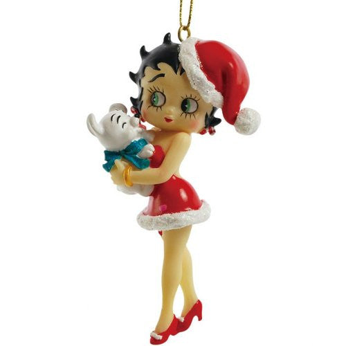 Betty And Pudgy Ornament