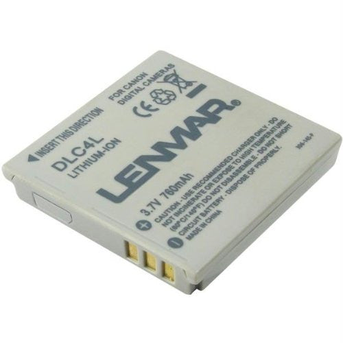 Lenmar Replacement Battery for Canon NB-4L Digital Camera
