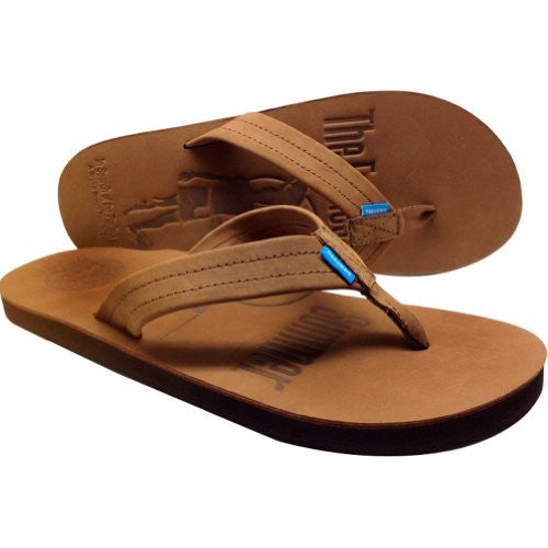 Freewaters Mens Classico-The Endless Summer Sandal Footwear, Tan, Sz. 9