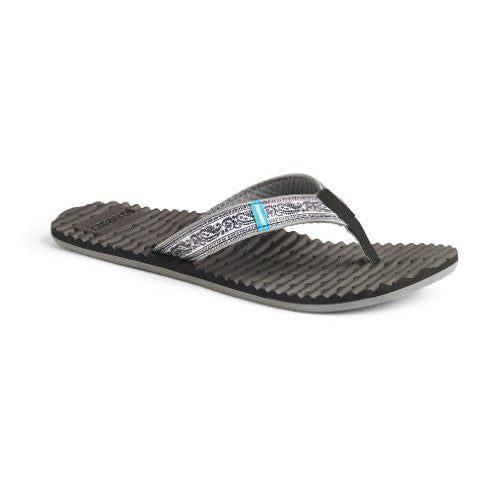 Women Sandal Whistler, Size: 8 (Black Print)