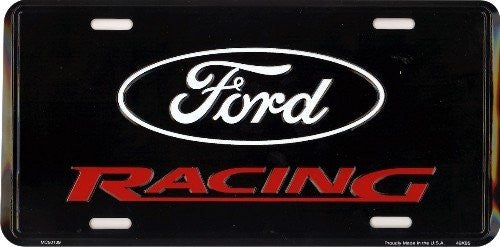 License Plate: Ford Racing Sign (6x12)