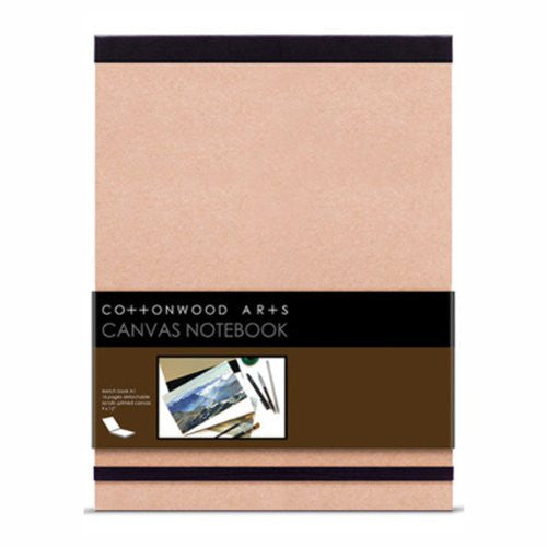 Cottonwood Arts CANVAS NTBK 9X12 16SH