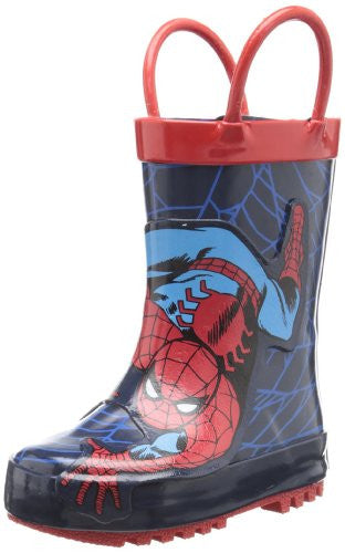 Western Chief Spider-Man Red Boots Size: 4 Youth