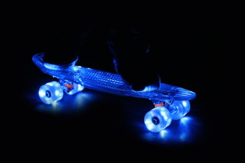 "Wave - 22"" Complete - Blue Deck - Blue Wheels"