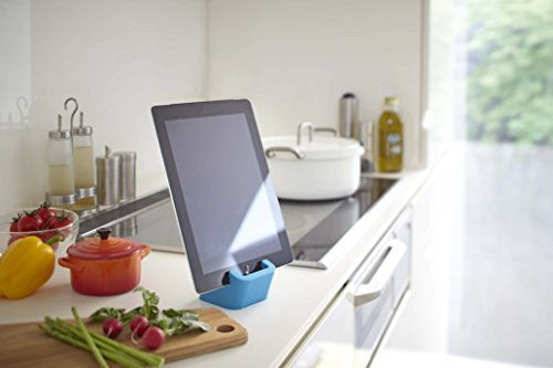 Square Tablet Stand - Blue