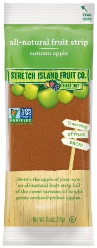 Fruit Leathers Naturals Apple 0.5 OZ (Pack of 10)