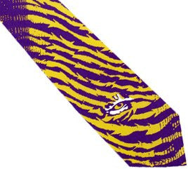 LSU Tigers Tie Stripes