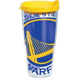 NBA Golden State Warriors Colossal Wrap with Lid 24oz Tumbler
