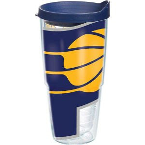 NBA Indiana Pacers Colossal Wrap with Lid 24oz Tumbler