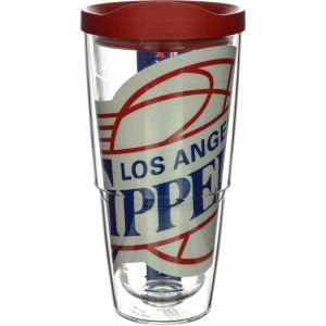NBA Los Angeles Clippers Colossal Wrap with Lid 24oz Tumbler