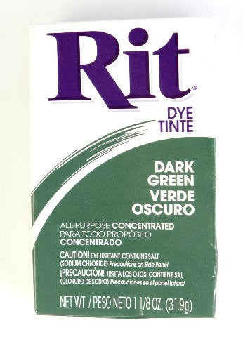 Dye Powder 1-1/8 oz - Dark Green