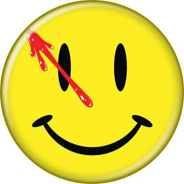 Watchmen Bloody Smile BUTTONS