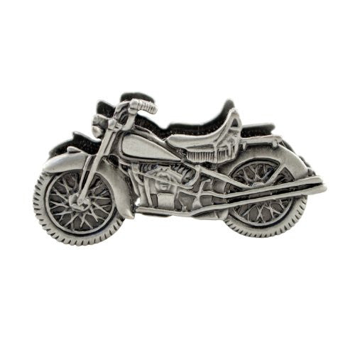 Vintage Motorcycle Business Card Holder