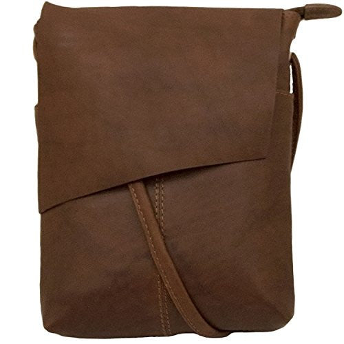 Rawhide Flap/Crossbody with adjustable strap - Toffee