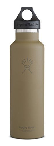 Hydro Flask Insulated Stainless Steel Water Bottle, Standard Mouth, 21-Ounce